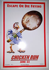 """Chicken Run (2000) set of 6 different advance one sheet movie posters (27""""x40"""")"""