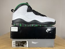 Men's Nike Air Jordan 10 X Retro Seattle Super Sonic City Pack Sz 10 310805-137