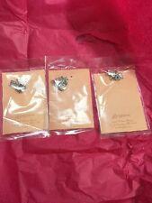 Brighton Hand Bag  Silver Tone Charms Set Of 6 Charms