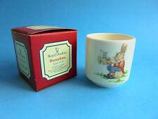 VINTAGE ROYAL DOULTON BUNNYKINS EGG CUP LIKE NEW ENGLAND ORIGINAL BOX
