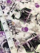 Disney Female Villains cotton Fabric FQ quilting Ursula Maleficent
