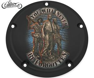 HARLEY DAVIDSON NARROW PROFILE DERBY COVER 2016-2021 TOURING ONLY PATRIOTIC