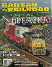 Railfan & Railroad February 2016 North Platte Nebraska Train FREE SHIPPING sb