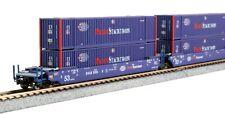 Kato N Scale MAXI-IV 3 bien Car Set ~ Pacer con 6 envases de #6066 ~ 106-6180