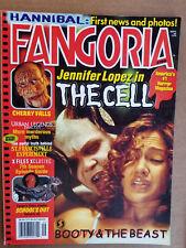 FANGORIA #196 (9/00): THE CELL, CHERRY FALLS, X-FILES, BUFFY TV +bonus