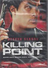 Dvd **KILLING POINT** con Steven Seagal nuovo sigillato 2008