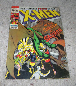 X-men 60 1st Sauron Neal Adams Cyclops Marvel Iceman Original team   LOT MCU