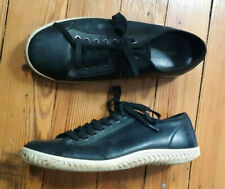 Converse John Varvatos black  leather tread sole sneakers! Sz 9. Awesome!!