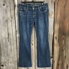 American Eagle Stretch Artist Womens Jeans Dark Wash Size 8