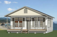 28x36 House -- 3 Bedroom 2 Bath -- 1,008 sq ft -- PDF Floor Plan -- Model 1P