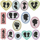 SILHOUETTE * Machine Embroidery Patterns * 14 designs