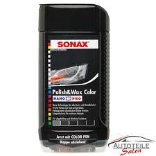 1 x Sonax Nano Pro Polish & Wax Autopolitur 0296100 Schwarz 500ml. Wachs