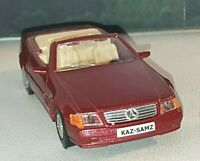1989 MERCEDES BENZ 500SL PERSONALISED DIECAST MODEL TOY CAR BOYS TOYS GIFT DADS