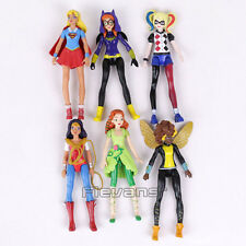 DC Comics Supergirl Batgirl Wonder Women Harley Quinn Poison Ivy PVC Action Figu