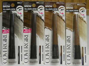 2 CoverGirl Easy Breezy Brow Fill - Shape - Define Powder  (Choose Color)  (New)
