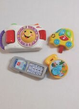 PRESCHOOL TOY LOT Camera With Sound, Cell Phone, Musical Car, Compass TOYS