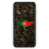 Portugal Camouflage Silikon Hülle für Xiaomi Redmi 8A Motiv Design Militär Mi...