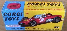 Corgi 154 Ferrari F1 GP Racing Car Empty Repro Box