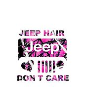 JEEP HAIR  Muddy Girl Decal  Sticker