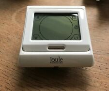 Joule E91.713 touch screen programmable room thermostat for underfloor heating.