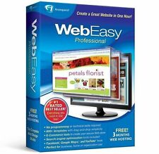 Avanquest Web easy Professional 10,design websites,HTML,listing,1000+ templates