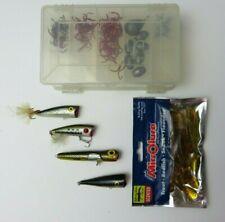 fishing lure baits lot 6 crank bait fat free shard gold storm & hooks weights