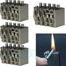 20Pcs Survival Emergency Camping Fire Starter Flint Metal Match Lighter Hiking