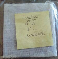 "New ListingFabric - 25ct. Jobelan 9""x8"" Cross Stitch Fabric Ice Blue"