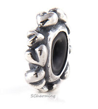 Authentic Trollbeads Silver Heart Spacer TAGBE-30128