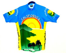 Champion System Mens L California Cycling Jersey Shirt Sunset