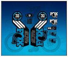 PEGATINAS STICKERS FORK FOX 32 PERFORMANCE ELITE  AM100 AUFKLEBER DECALS ADESIVI