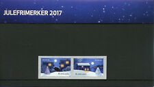 Norway 2017 MNH Christmas In City & Countryside 2v S/A Set Pres Pack Stamps