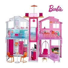 Détails sur Barbie Mobilier Grande Maison de poupée de Luxe à 2 étages et 4