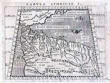 Antique map, Tabula Aphricae I