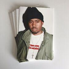 Supreme Nas Photo Sticker 100% AUTHENTIC SUPREME STICKER BOX LOGO
