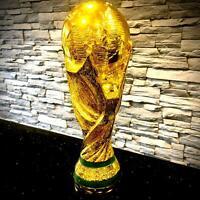 Coppa del mondo Trofeo Souvenir replica in resina resistente premiazione torneo