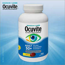 Bausch + Lomb Ocuvite Adult 50 150 Softgels ,Eye Vitamin & Mineral Supplement