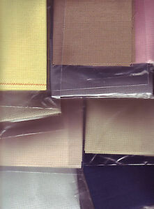 NEW!! Pieces of 16 Count Aida Cross Stitch Fabric Choose Colour and Size