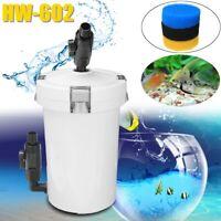 SunSun HW-602 Aquarium Außenfilter 2L Kammerfilter 3 Lagen Filter