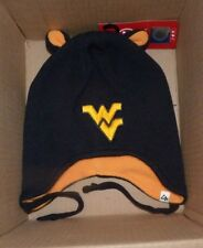 NEW NCAA West Virginia Mountaineers Lil Monster Winter Hat Cap Toddler 47 NWT