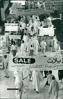 Original Photograph, UAE , Abu Dhabi Eid Shopping AP08
