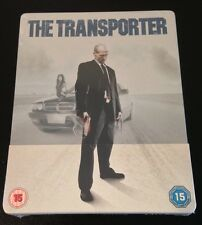 THE TRANSPORTER Blu-Ray SteelBook Metal Pack UK Region B Jason Statham OOP Rare!