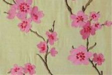 Overstock First Quality Embroidered Braemore Drapery Fabric Hangzou CL Petal