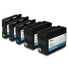 5PK HP 932xl 933xl Ink Cartridges for Officejet 6700 7110 Inkjet Printers