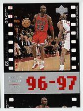 Michael Jordan 98 Upper Deck Timeframe23 96-97 Scoring 40 points Basketball card