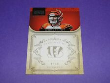 2011 National Treasures JORDAN SHIPLEY #33 RC Silver/25 BENGALS Texas LONGHORNS