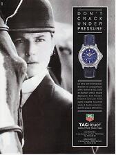 ▬► PUBLICITE ADVERTISING AD Montre Watch TAG HEUER S/el automatique