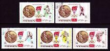 Yemen 1968 used c.t.o Mi.620/24 A Olympische Spiele Olympic Games Winner