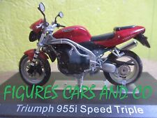 MOTO 1/24 TRIUMPH  955 i  SPEED TRIPLE COLLECTION GM