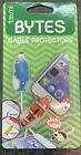 Tzumi Bytes Cable Protectors #6301 -2 Pack  Blue Fish & Nemo